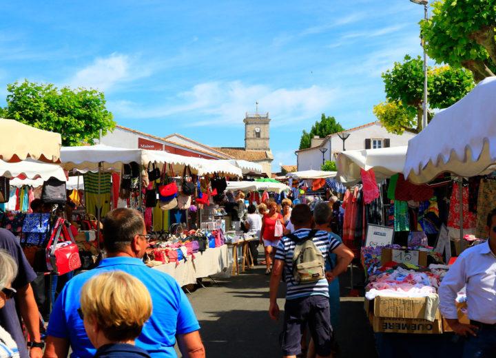 Marchés Le Bois-Plage et La Pallice