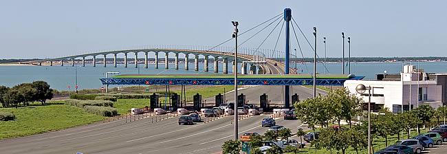 Combien coûte le péage du pont de l'ile de ré