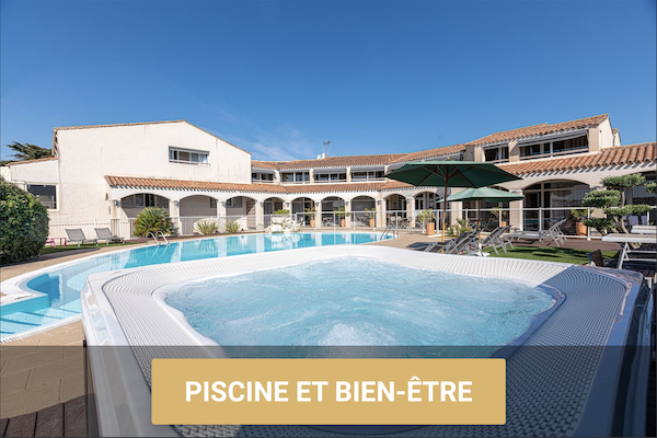 Hotel du Grand Large - Hotel ile de ré piscine spa ile de Ré